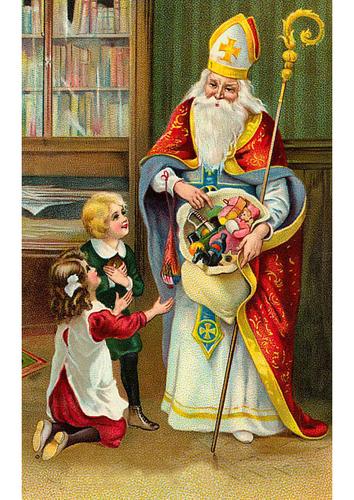 Babbo Natale E San Nicola.Ilpoetasognatore Natale La Festa Di San Nicola E Babbo
