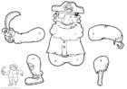 Laboratorio creativo pirata - marionetta