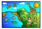 Laboratorio creativo Adamo ed Eva scena 1