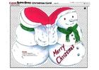 Laboratorio creativo biglietto d'auguri di Natale 2
