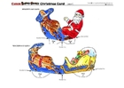 Laboratorio creativo biglietto d'auguri di Natale 4