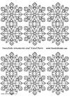 Laboratorio creativo decorazioni fiocchi di neve piccoli