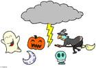 Laboratorio creativo giostrina di Halloween