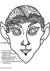 Laboratorio creativo maschera da elfo