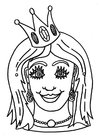 Laboratorio creativo maschera da principessa