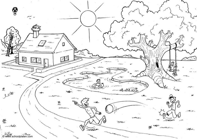 Disegno da colorare 01 estate cat 4560 for Sole disegno da colorare