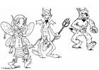 Disegno da colorare 03 travestimento