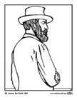 Disegno da colorare 20 James Garfield