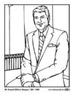 Disegno da colorare 40 Ronald Wilson Reagan