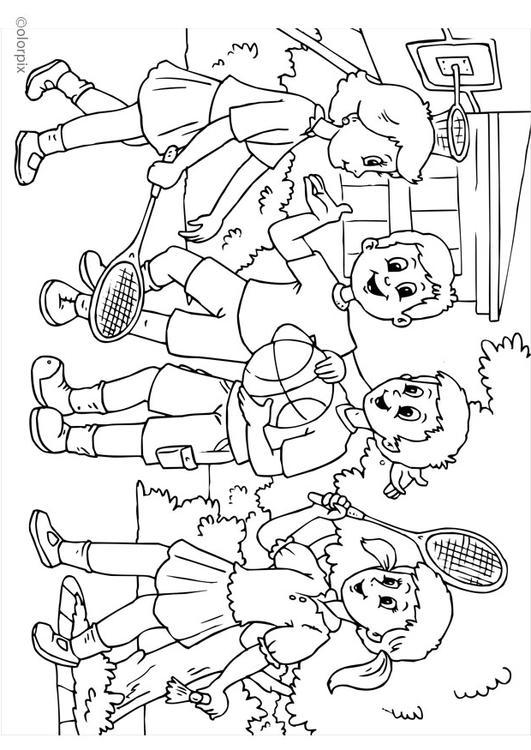 Disegno Da Colorare A01 Amicizia Cat 25974
