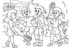 Disegno da colorare a01-amicizia