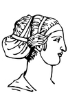 Disegno Da Colorare Maschere Greche Cat 17078