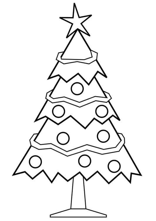 Albero Di Natale Da Colorare E Stampare.Disegno Da Colorare Albero Di Natale Disegni Da Colorare E Stampare Gratis