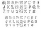 Disegno da colorare alfabeto