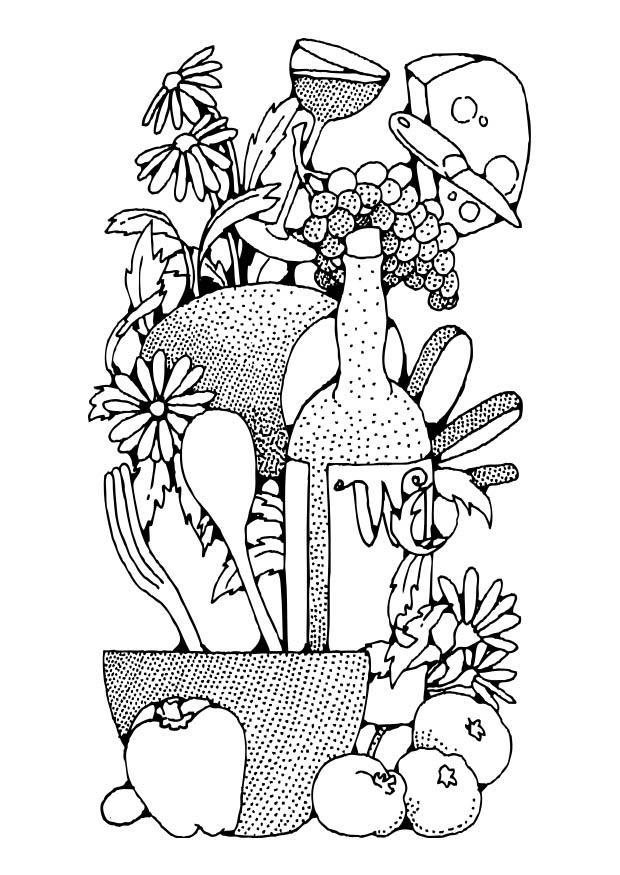Disegno Da Colorare Alimentazione Cat 17339