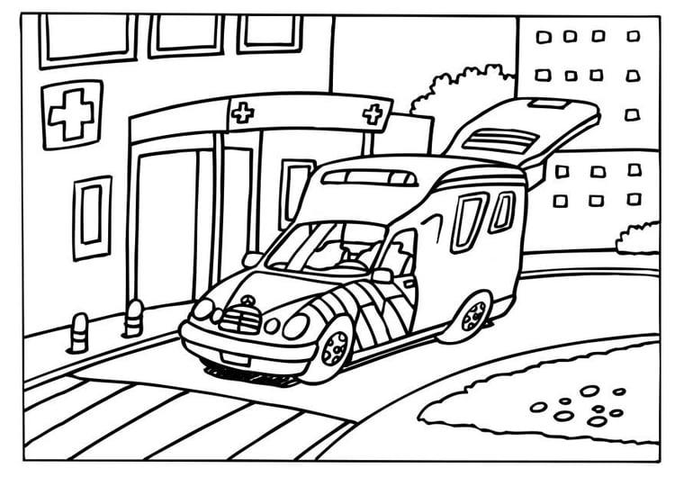 Disegno Da Colorare Ambulanza Cat 6572 Images
