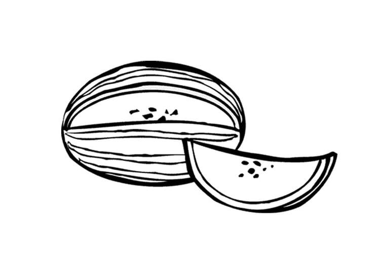 Disegno Da Colorare Anguria Cat 9557