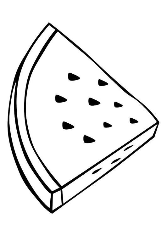 Disegno Da Colorare Anguria Cat 10373