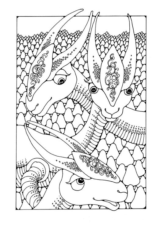 Disegno Da Colorare Animali Fantastici Cat 25652