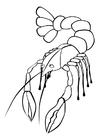 Disegno da colorare aragosta