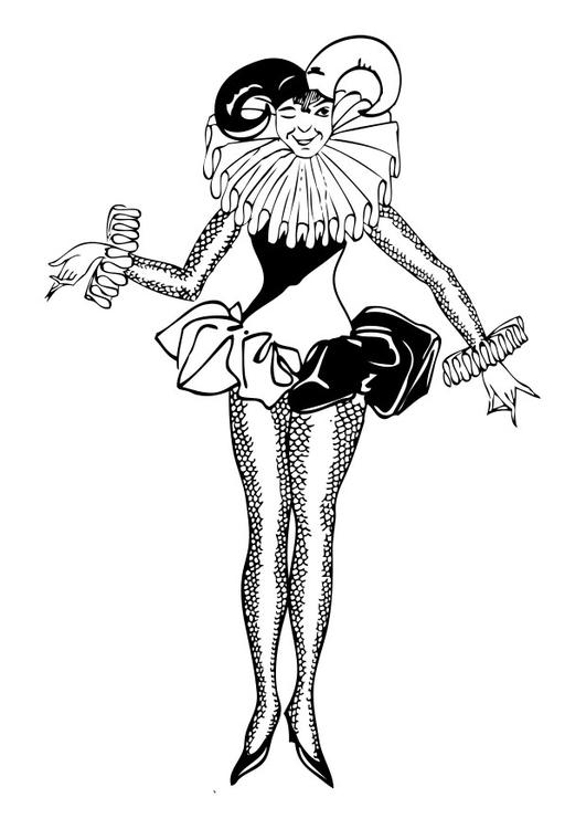 Arlecchino Colorare.Disegno Da Colorare Arlecchino Disegni Da Colorare E Stampare Gratis