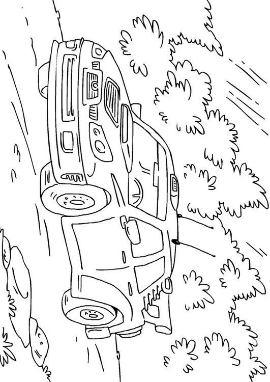 Disegno Da Colorare Auto Da Rally Cat 27170 Images