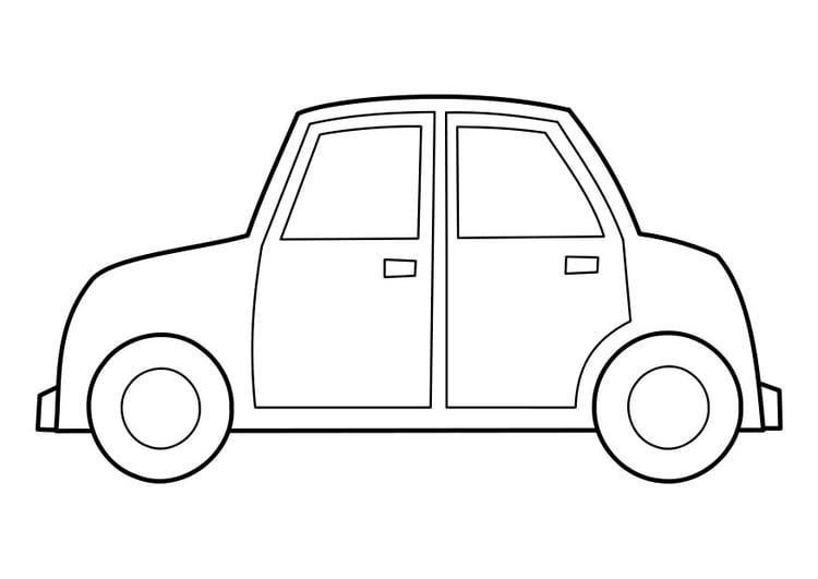 Disegno Da Colorare Auto Disegni Da Colorare E Stampare Gratis