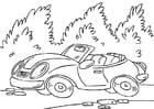 Disegno da colorare auto sportiva