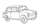 Disegno da colorare auto - zaz - 965