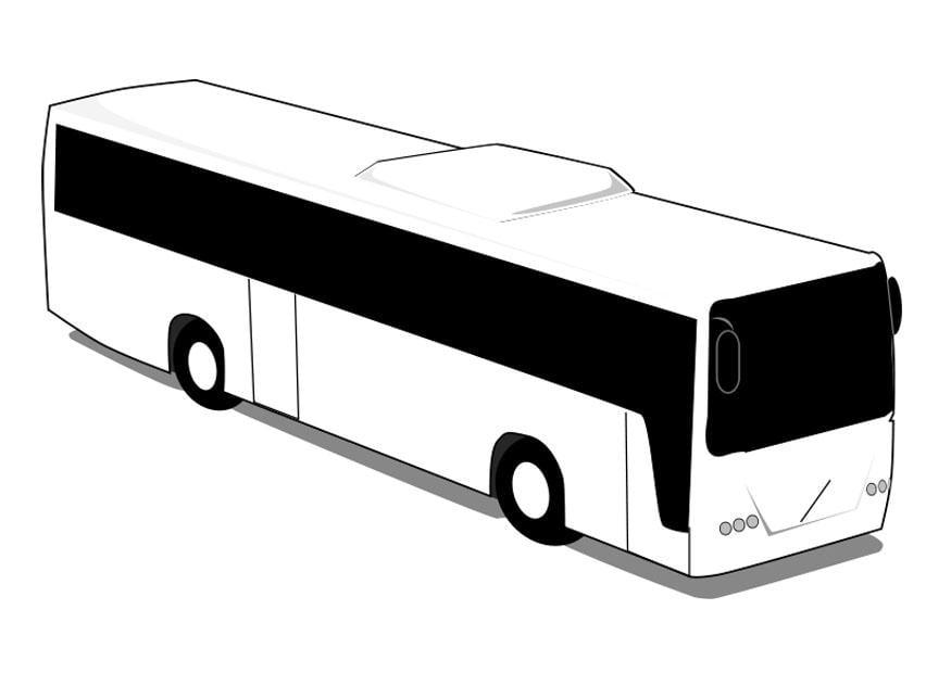 disegno da colorare autobus  disegni da colorare e