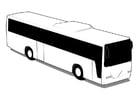 Disegno da colorare autobus