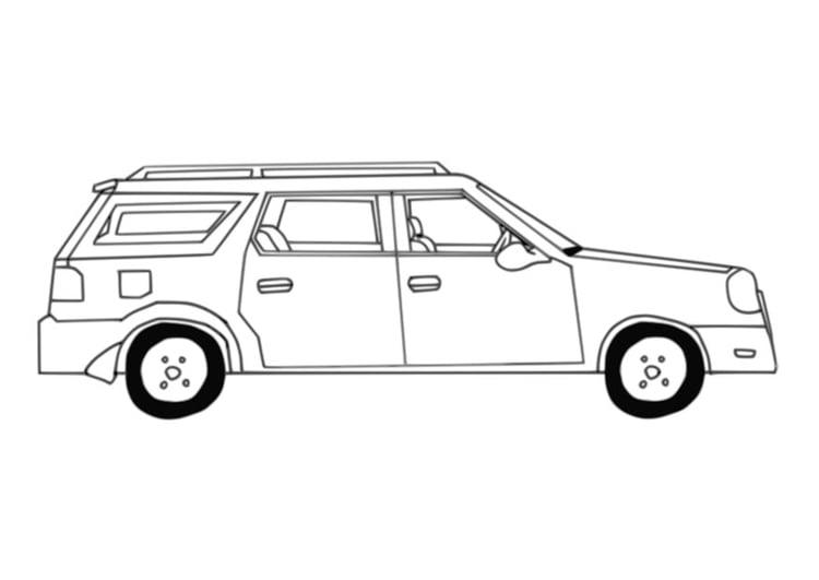 Disegno Da Colorare Automobile Disegni Da Colorare E Stampare Gratis