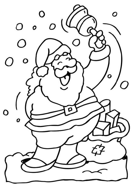 Disegno Da Colorare Babbo Natale Disegni Da Colorare E Stampare