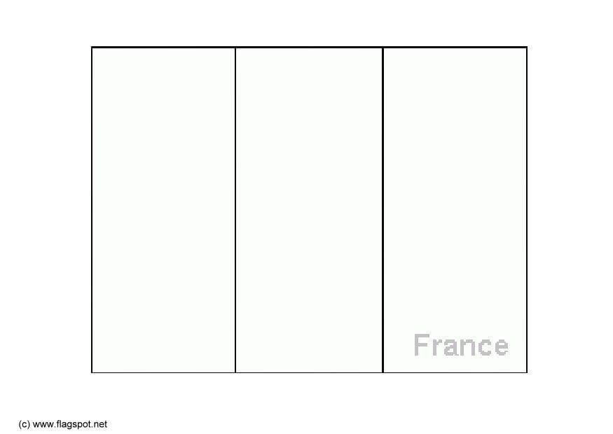 Disegno Da Colorare Bandiera Francia Cat 6147 Images