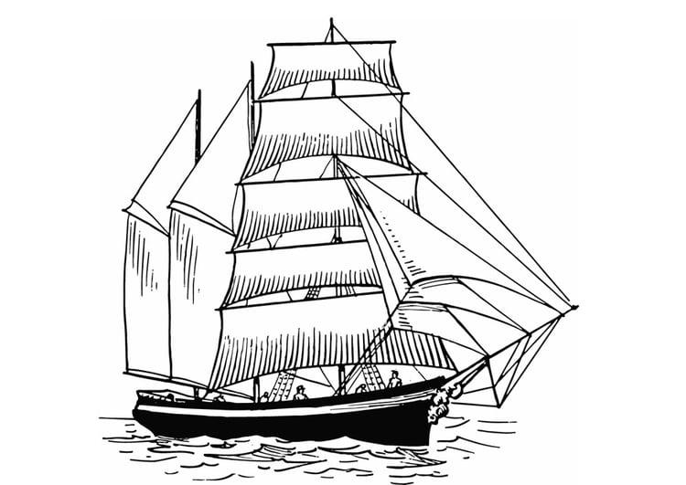 Disegno Da Colorare Barca A Vela Cat 13308