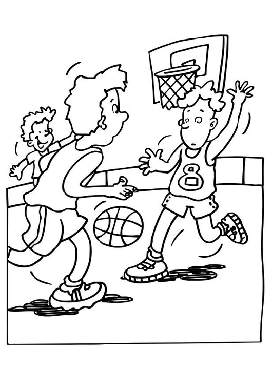 Disegno Da Colorare Basket Disegni Da Colorare E Stampare Gratis Imm 12053