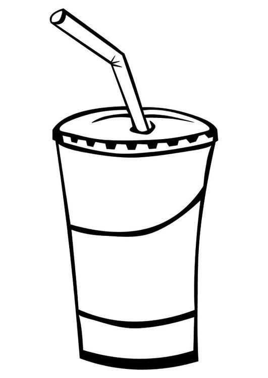 Disegno da colorare bibita cat 10334 for Disegno vaso da colorare