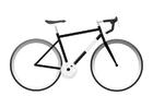 Disegno da colorare bici da corsa