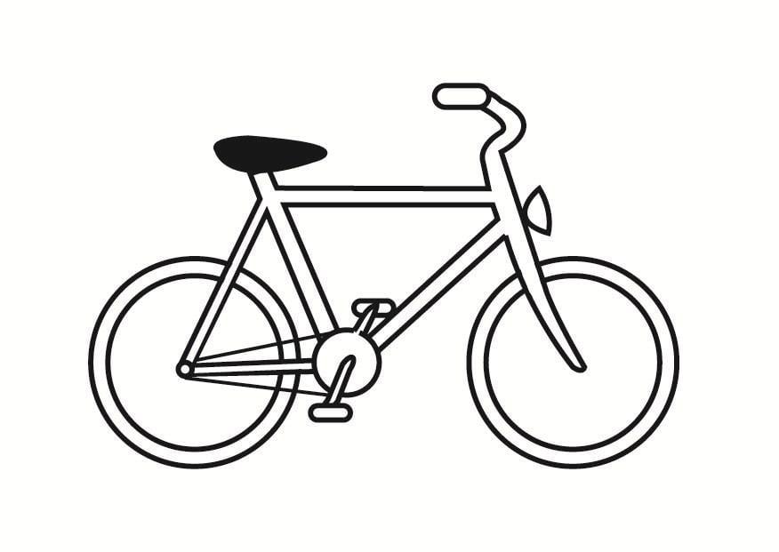 Bicicletta Disegno Da Colorare.Disegno Da Colorare Bici Disegni Da Colorare E Stampare Gratis