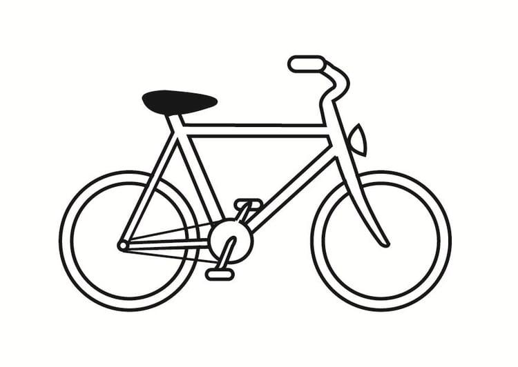 Ben noto Disegno da colorare bici - Cat. 23331. TB55