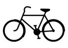 Disegno da colorare Bici