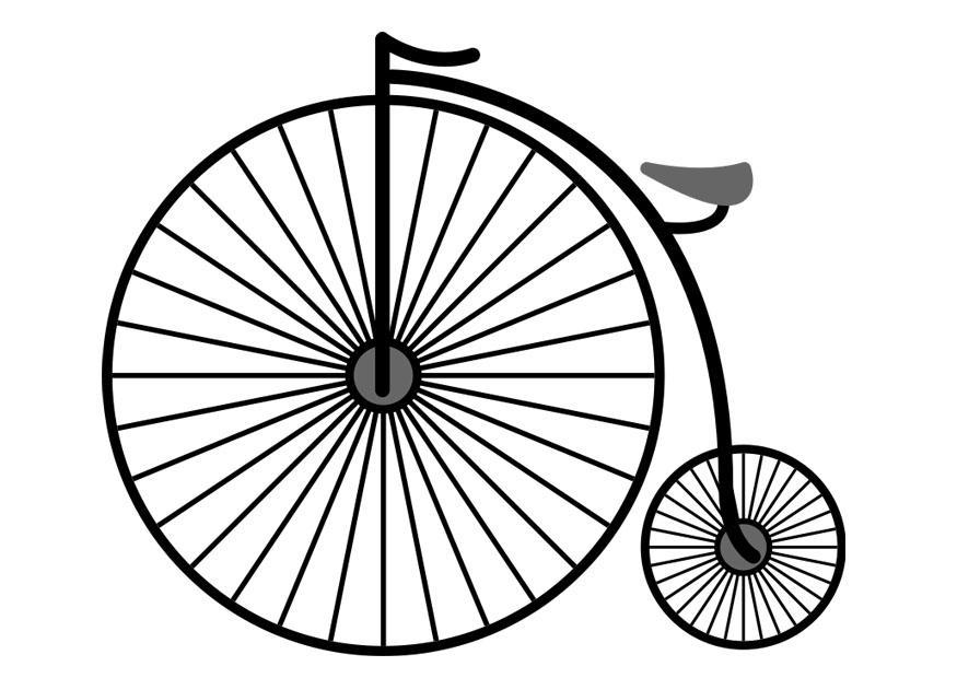 Disegno da colorare bicicletta disegni da colorare e for Bicicletta immagini da colorare