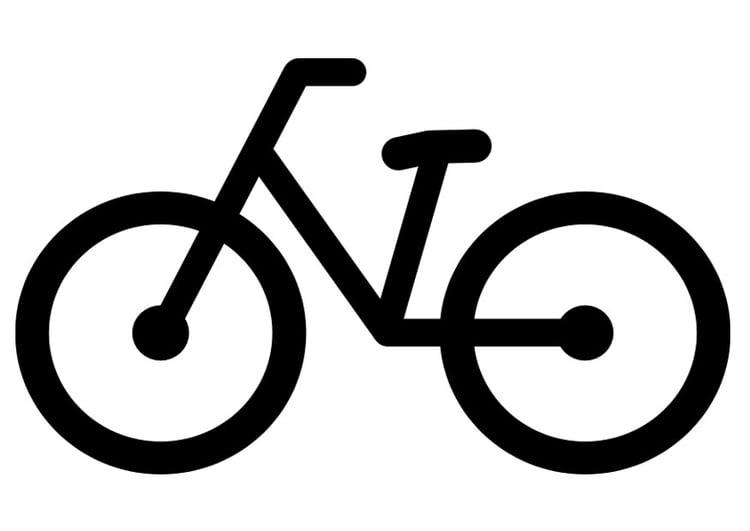 Disegno Da Colorare Bicicletta Cat 27154 Images