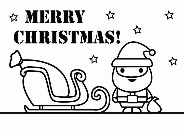 Natale Disegno Da Colorare.Disegno Da Colorare Buon Natale Disegni Da Colorare E Stampare
