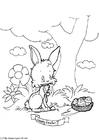 Disegno da colorare Buona Pasqua