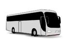 Disegno da colorare bus
