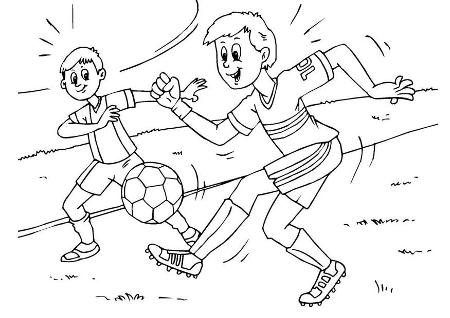 Disegno da colorare calcio cat 25983 for Calciatori da colorare per bambini