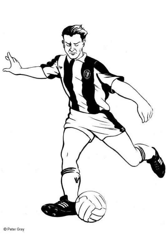 Disegno Da Colorare Calcio Cat 12051