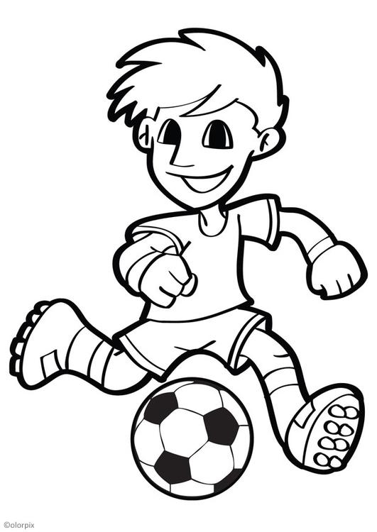Disegno Da Colorare Calcio Disegni Da Colorare E Stampare Gratis