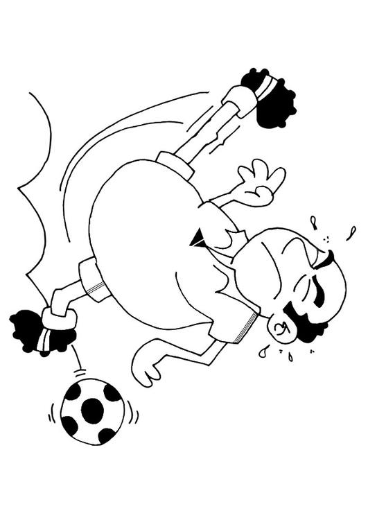 Disegno Da Colorare Calcio Cat 25735